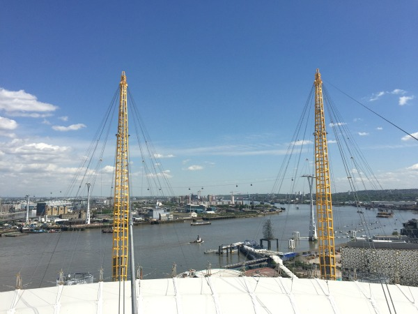 O2 roof climb greenwich london