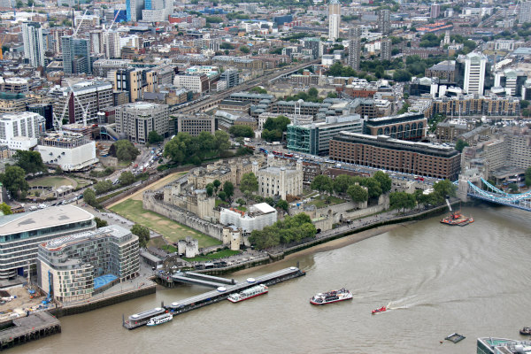The Shard London view