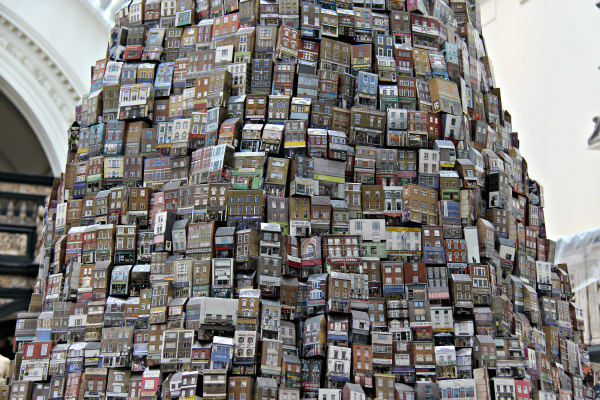 Barnaby Barford The Tower of Babel London Design Week 2015 V&A