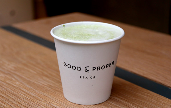 Good & Proper Tea crumpet London Old Street