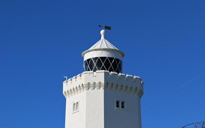 Dover White Cliffs Kent South Foreland lighthouse