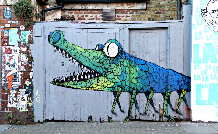 street art shoreditch