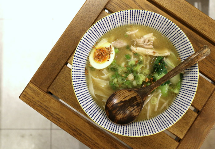 tang london chicken tang broth six minutes egg