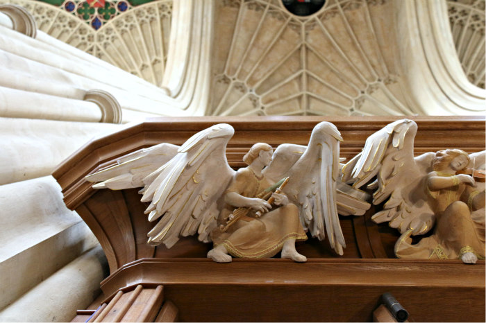 Bath cathedral angels