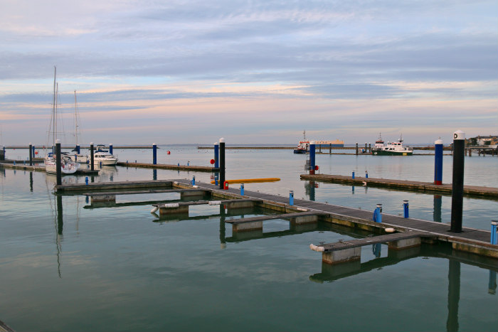 Isle of Wight Cowes harbour