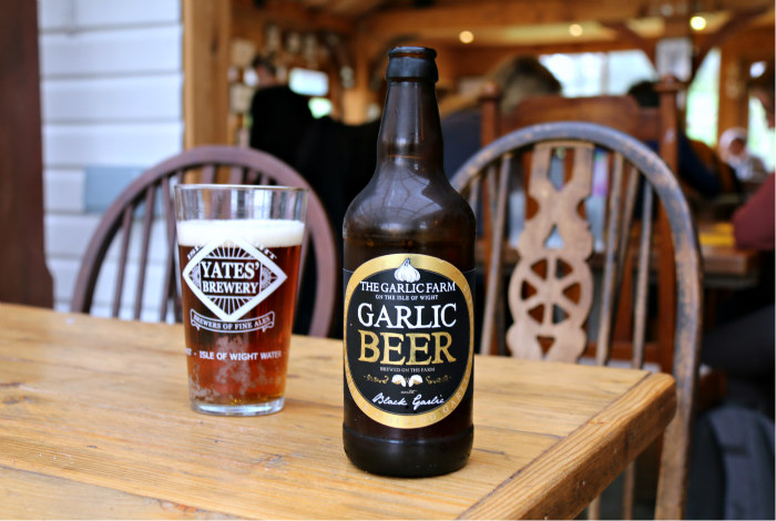 Isle of Wight Garlic farm Garlic beer