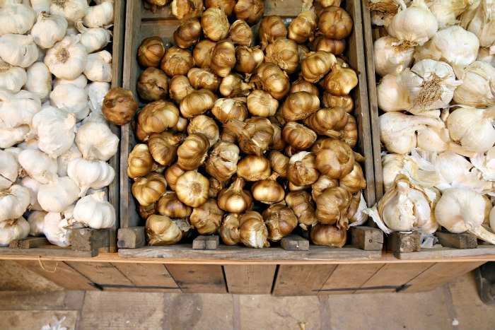 Isle of Wight Garlic farm smoked garlic
