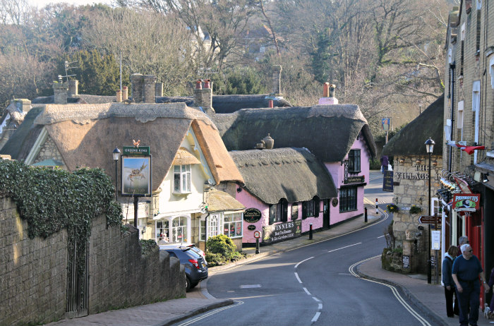 Isle of Wight Shanklin Old Village Thatch roofs 6