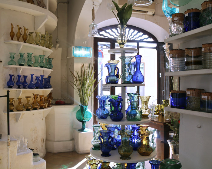 Palma Majorque Majorca Baleric islands glass