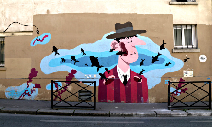 belleville paris street art mr pee