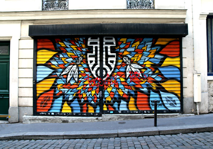 belleville paris street art