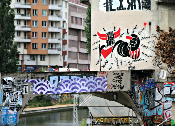 paris france canal saint martin street art 2