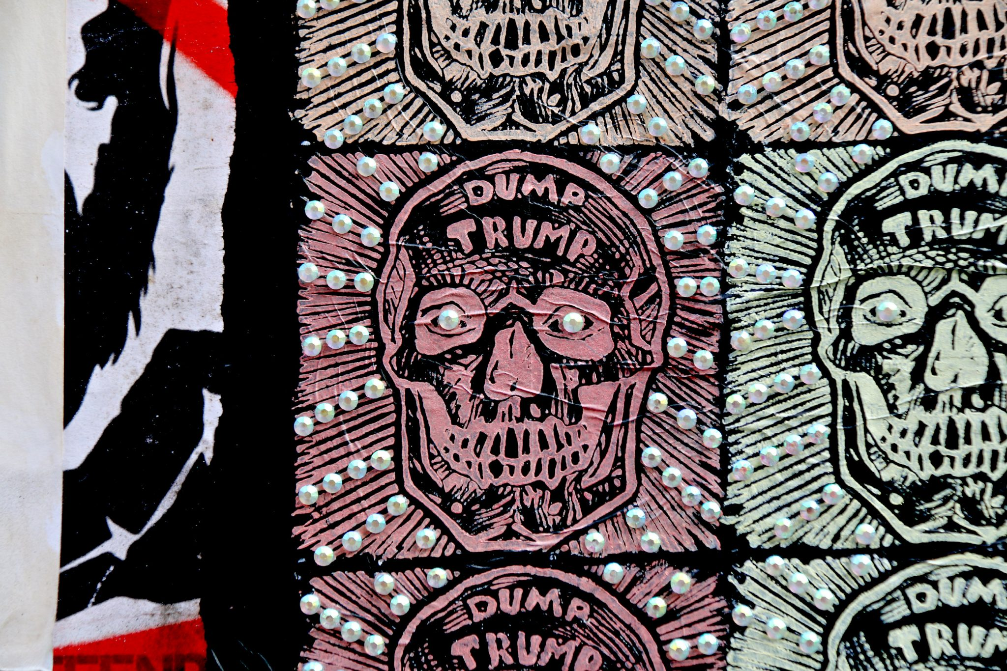 où trouver du street art à shoreditch brick lane uberfub dump trump