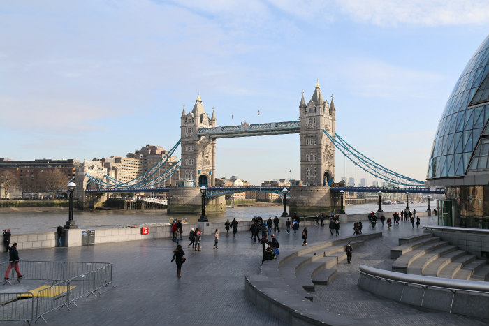 London Tower Bridge view