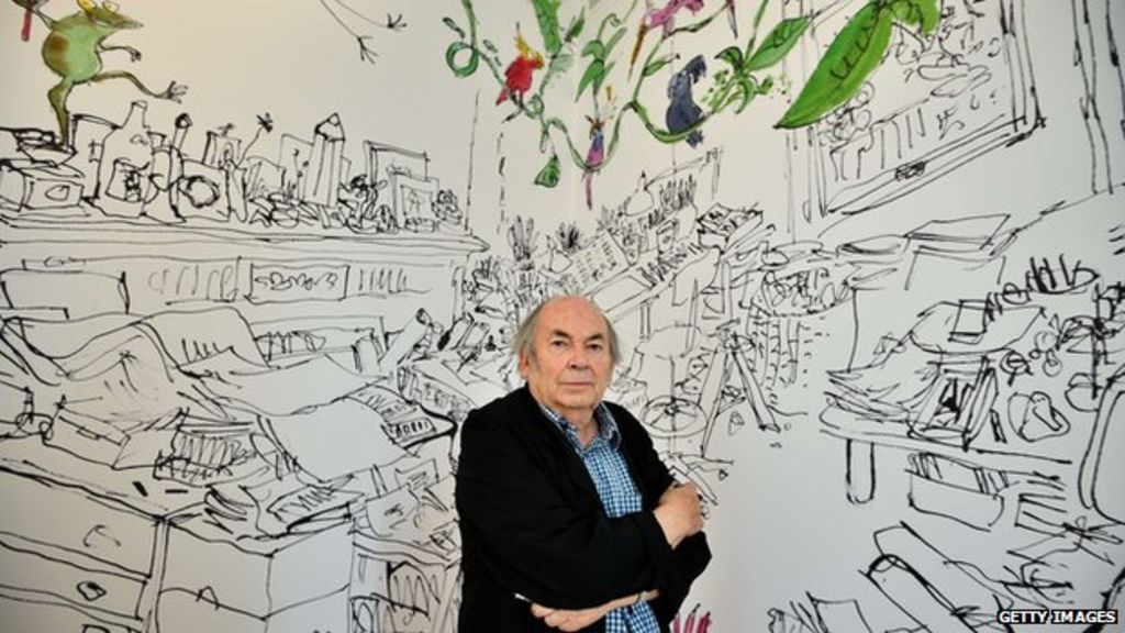 Quentin Blake House of illustration king's cross saint pancras londres